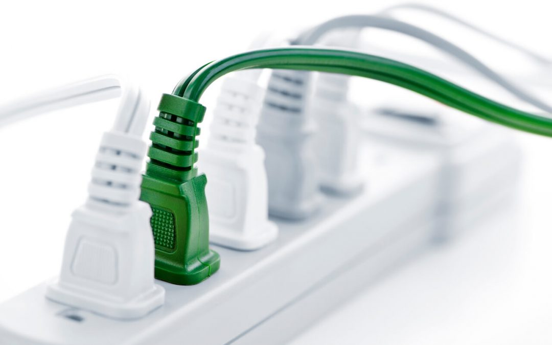 Improve electrical safety in the home by using surge-protecting power strips